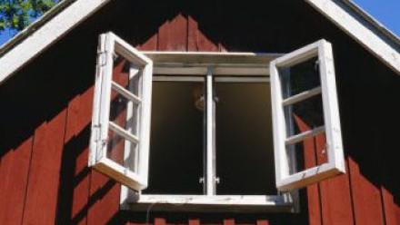 Okna na chatu
