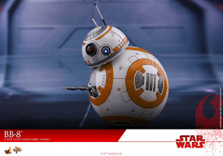 Movie Masterpiece 1/6 BB-8 y BB9E de Star Wars Episode VIII: The Last Jedi - Hot Toys