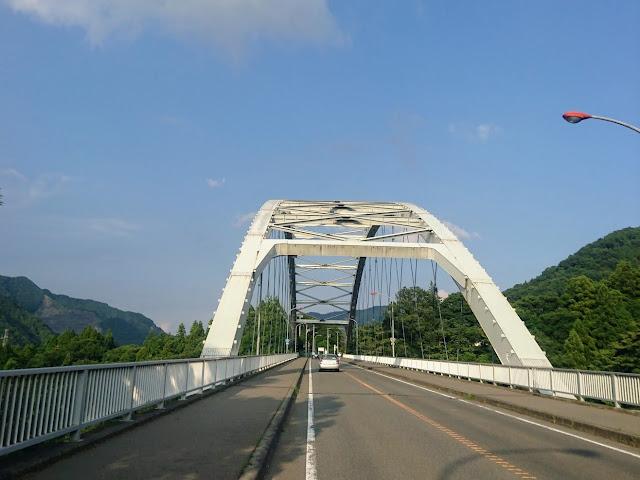 道志みち 西沢大橋