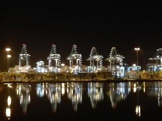 grúas del Puerto de Algeciras