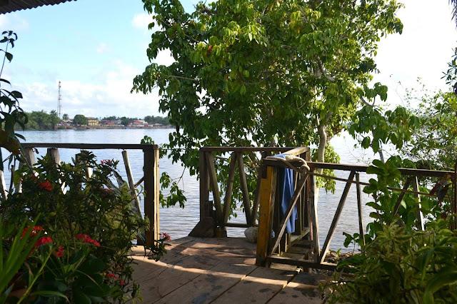 Guyane, Saint-Georges, Oyapock, Brésil, Ilha do sol, île du soleil