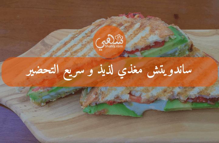 ساندويتش مغذي لذيذ و سريع التحضير