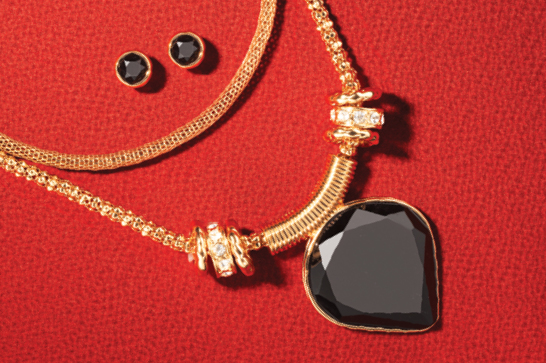 Shop The Perfect Match Necklace and Earring Set $24.99 >>>