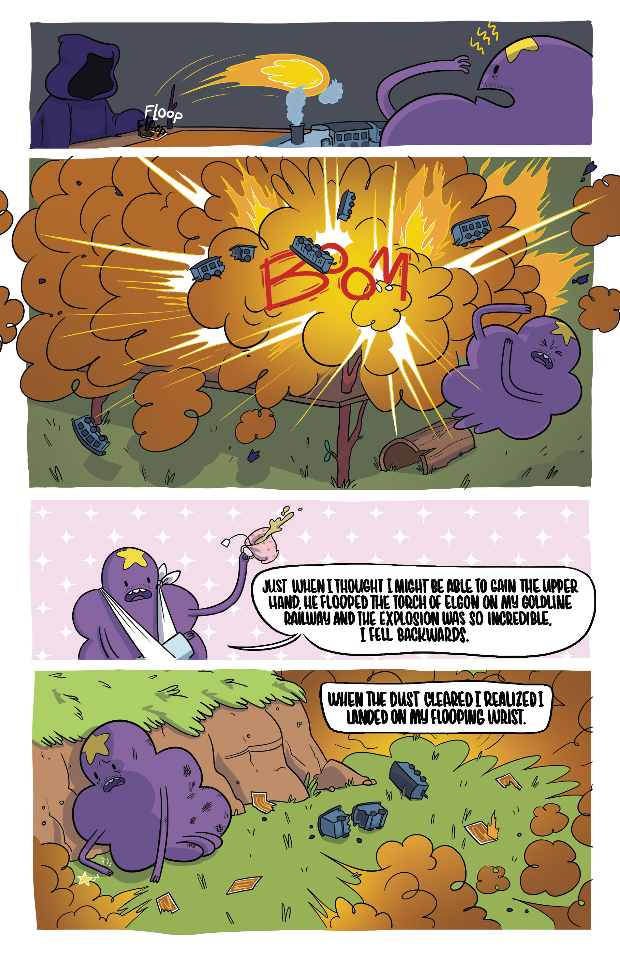 Read online Adventure Time Fionna and Cake Card Wars comic -  Issue #2 - 7