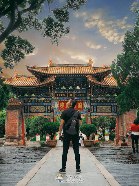 昆明圆通寺 YuanTong Temple in KunMing City