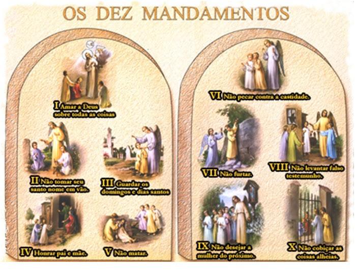 Os Mandamentos Na Vida Cristã: CATEQUESE INFANTIL: Setembro 2011