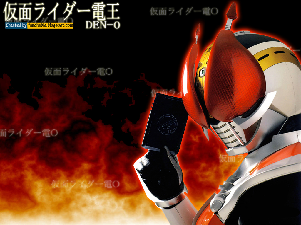 fast pics2: Kamen Rider Den-O Gun Form Wallpaper | Best ...