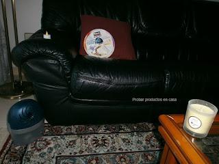Deshumidificador Rubson Aero 360º Vainilla relax en casa