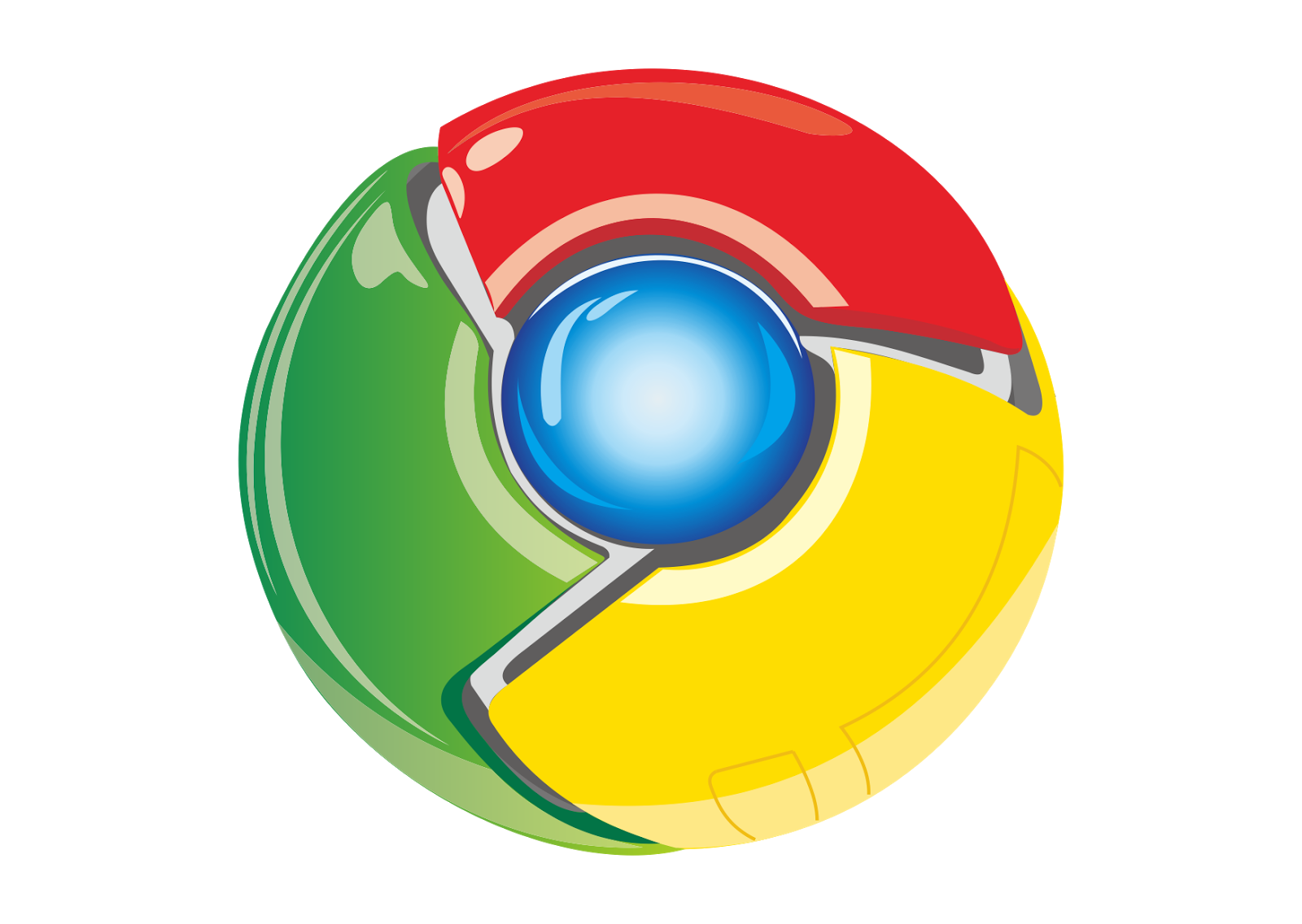 Google Chrome Logo Vector~ Format Cdr, Ai, Eps, Svg, PDF, PNG