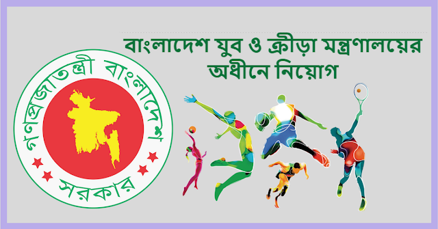 Ministry of Youth and Sports Job Circular 2018 www.moysports.gov.bd 1