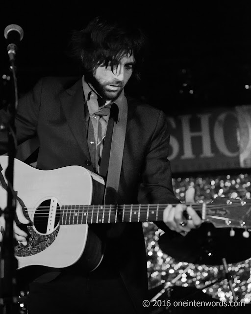 Jerry Leger at The Horseshoe Tavern in Toronto, February 29 2016 Photos by John at One In Ten Words oneintenwords.com toronto indie alternative live music blog concert photography pictures