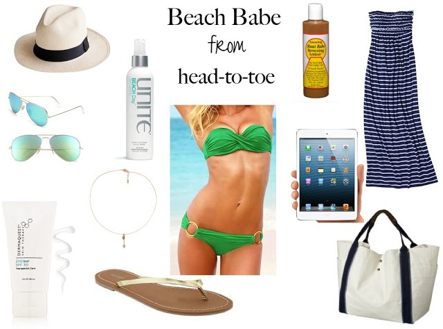 beach babe beach accessories for vacation