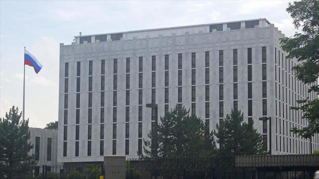 Rusia acusa a EEUU de filtrar datos bancarios de sus diplomáticos