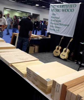 tone woods NAMM 2012 image from Bobby Owsinski's Big Picture production blog