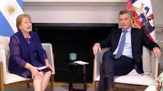 TRATARON ASUNTOS BINACIONALES DE CHILE Y ARGENTINA LOS PRESIDENTES