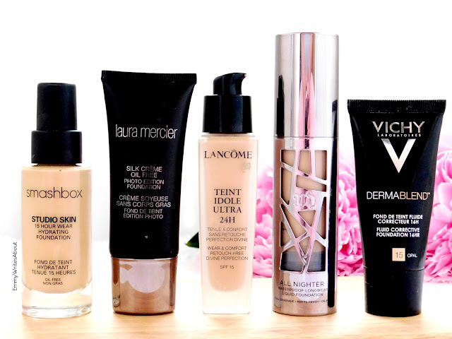 full coverage foundations for oily combination skin