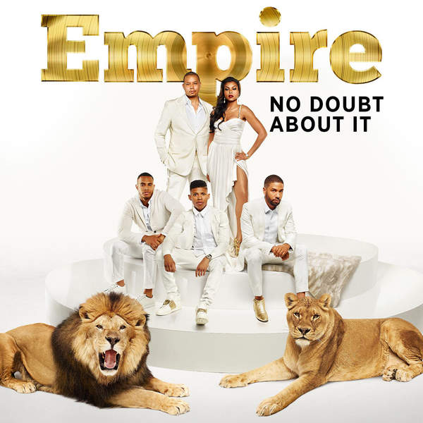 Empire Cast - No Doubt About It (feat. Jussie Smollett & Pitbull) - Single Cover