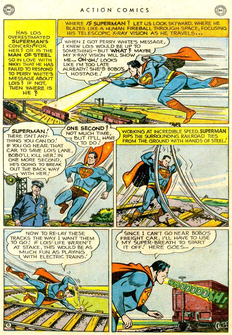 Action Comics (1938) 143 Page 8