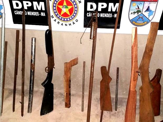 Polícia desmonta fábrica ilegal de armas em Cândido Mendes, MA