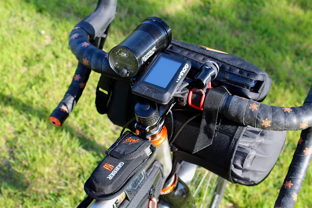 Review - Restrap Top Tube Bag and Handlebar Bag