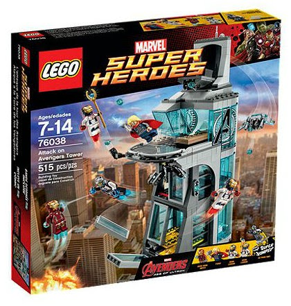 Attack On Avengers Tower 76038 LEGO