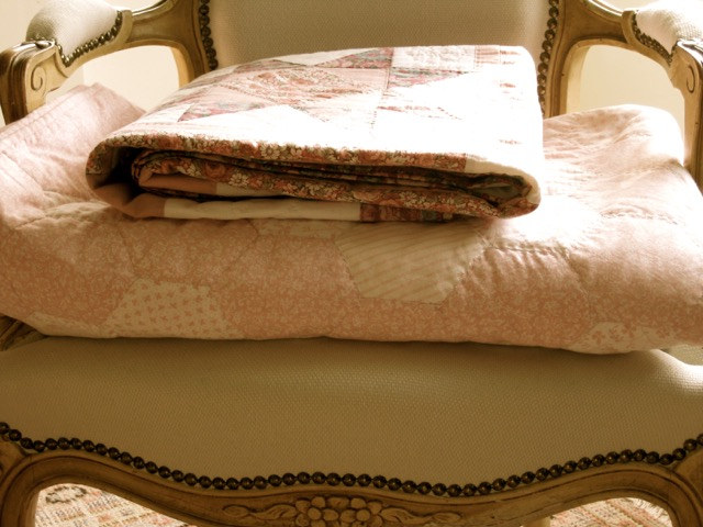 Pink quilts