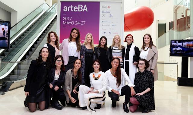 Lanzamiento de la 26a edición de arteBA que se llevará a cabo en el predio ferial de La Rural