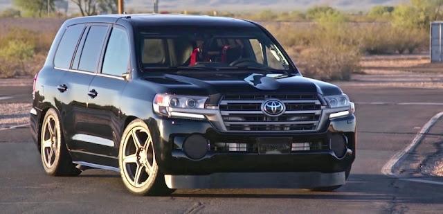 2000馬力の「トヨタ・ランドクルーザー」が最高速度370キロで世界一を達成!ランドスピードクルーザー