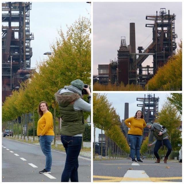 Reise Ruhrgebiet Reisebericht Besuch Fotoshooting Phönix-West Dortmund Herbst
