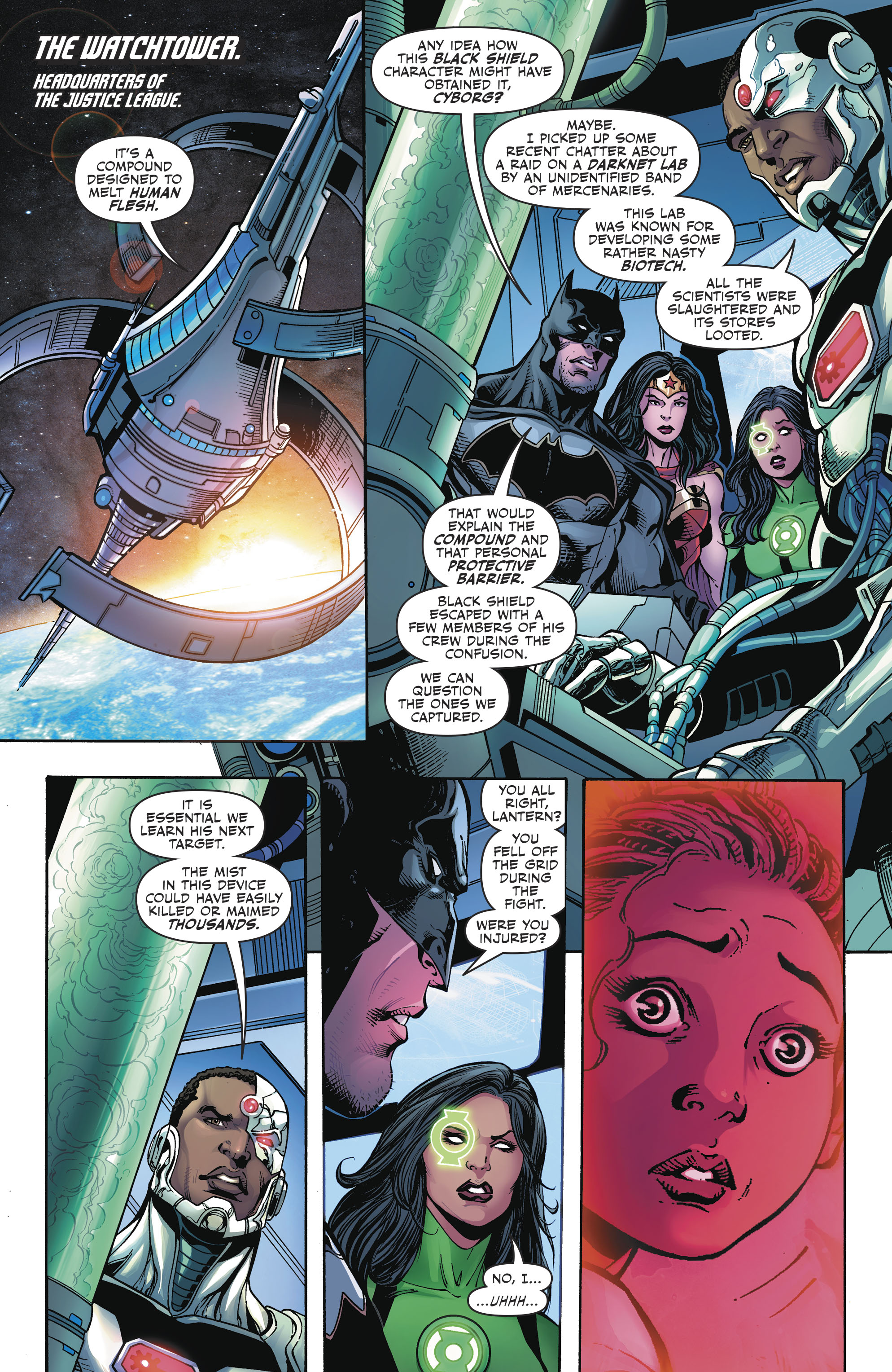 Read online Justice League (2016) comic -  Issue #23 - 10