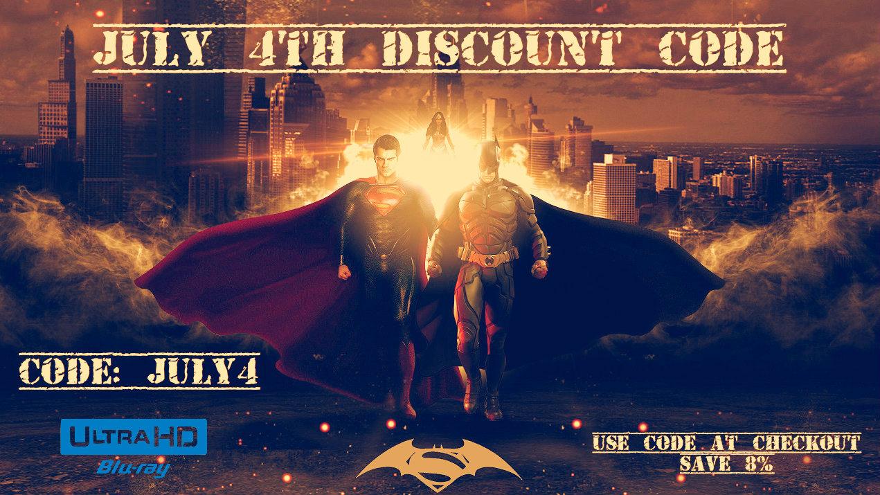 Batman v Superman: Dawn of Justice 4K (2016) Ultra HD Blu-ray UHD Deal