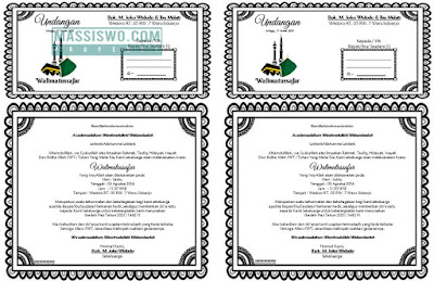 download undangan walimatussafar haji doc