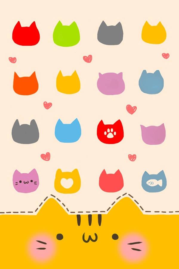 Hình nền những chú mèo dễ thương cho dế yêu của bạn