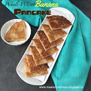 BANANA PANCAKES with a SURPRISE