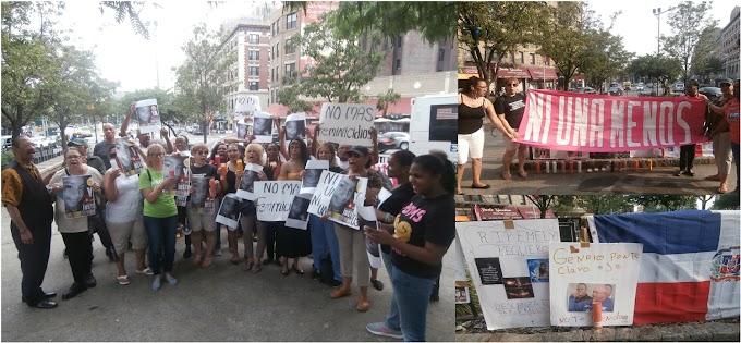 En vigilia por justicia para Emily dominicanas exigen cambios en las leyes para detener feminicidios