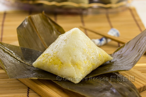Pyramid shaped Sticky Rice Dumpling02