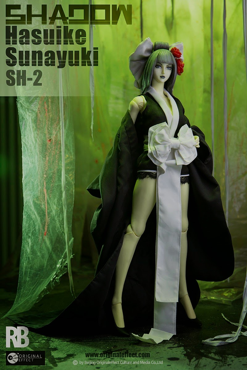 toyhaven: Check out OE (Original Effect) 1/6 scale Shadow