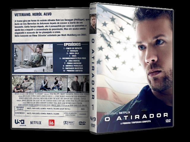 Capa DVD O Atirador 1ª Temporada [Exclusiva]