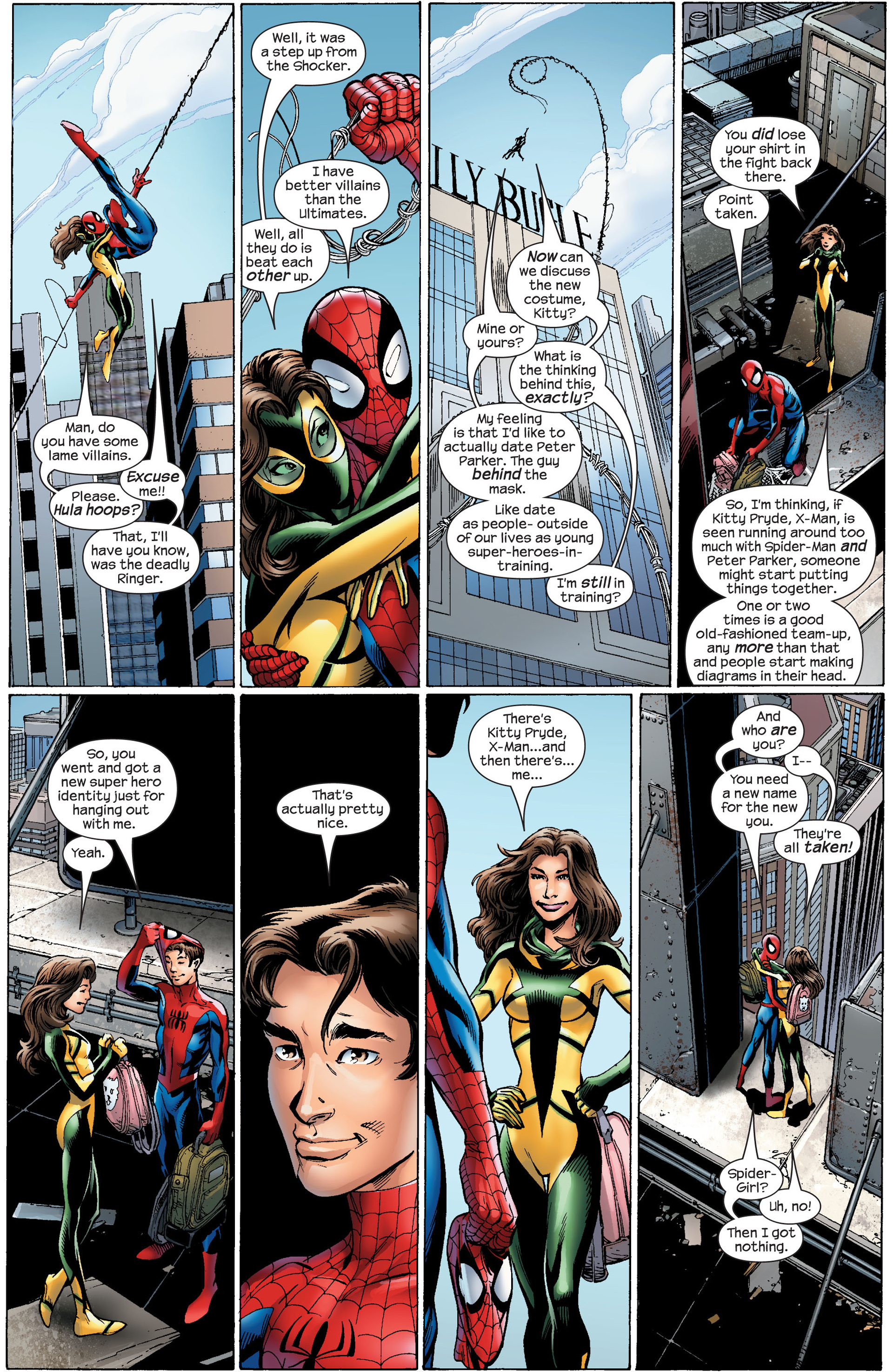 Read online Ultimate Spider-Man (2000) comic -  Issue #91 - 10