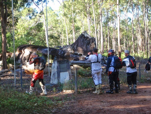 WWII History on the 8 Day Cairns to Cape York Ride