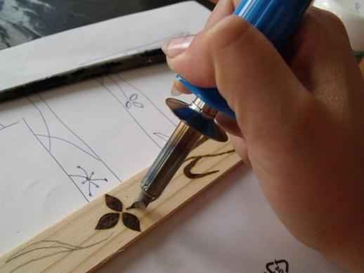 égetett fa képek készítése edi egyedi: Fára gravírozás (pirográf égetés) 3 lépésben égetett fa képek készítése