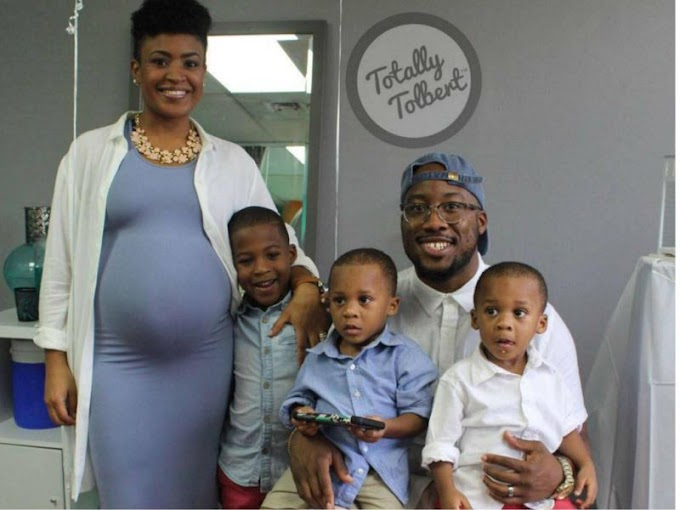 Father faints after learning that he and wife are having triplets