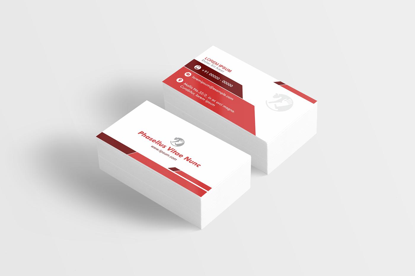 professional visiting card designs in corel format