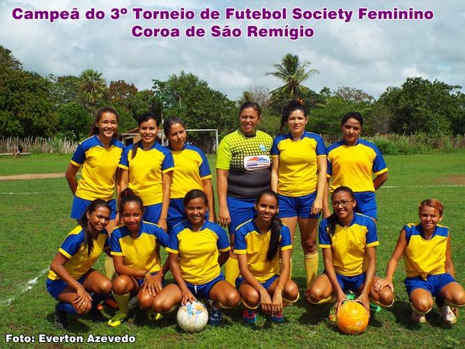 Portal Barrense Barra do Longá  Torneio de Futebol Society Feminino ... 9ed8ef2556320