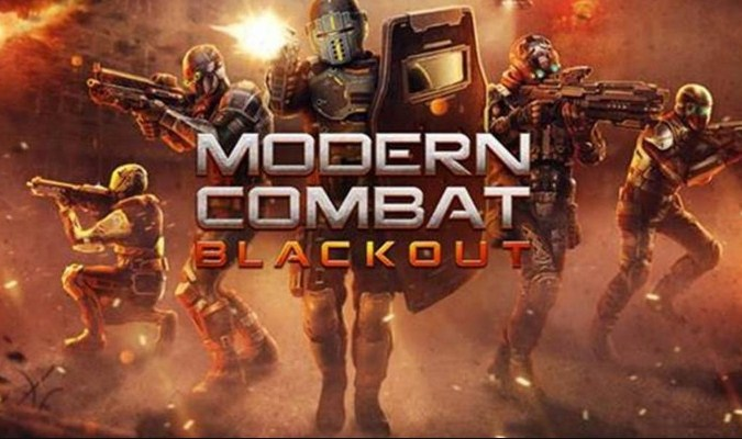 Game Smartphone - Modern Combat 5: Blackout