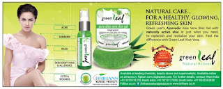 GREEN LEAF NATURAL CARE FOR A HEALTHY SCIN