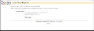 Cara Ping URL Blog Ke Google