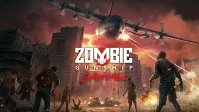 Zombie Gunship Survival Mod Apk + Data for Android