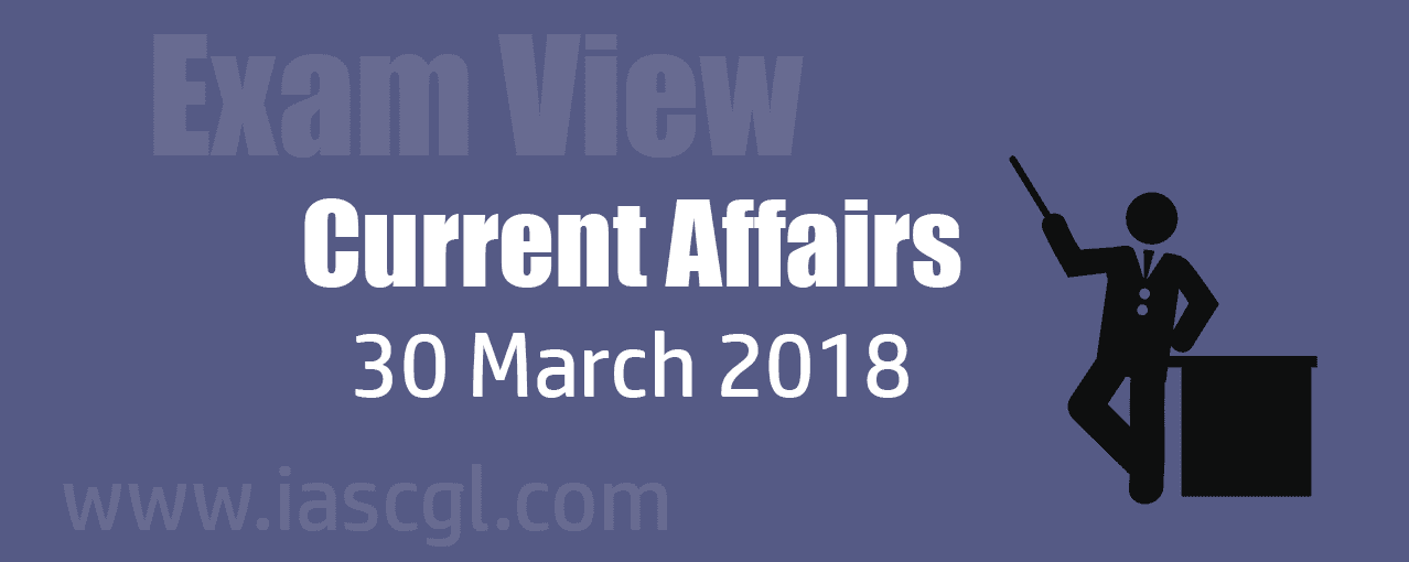 Current Affair 30 march 2018