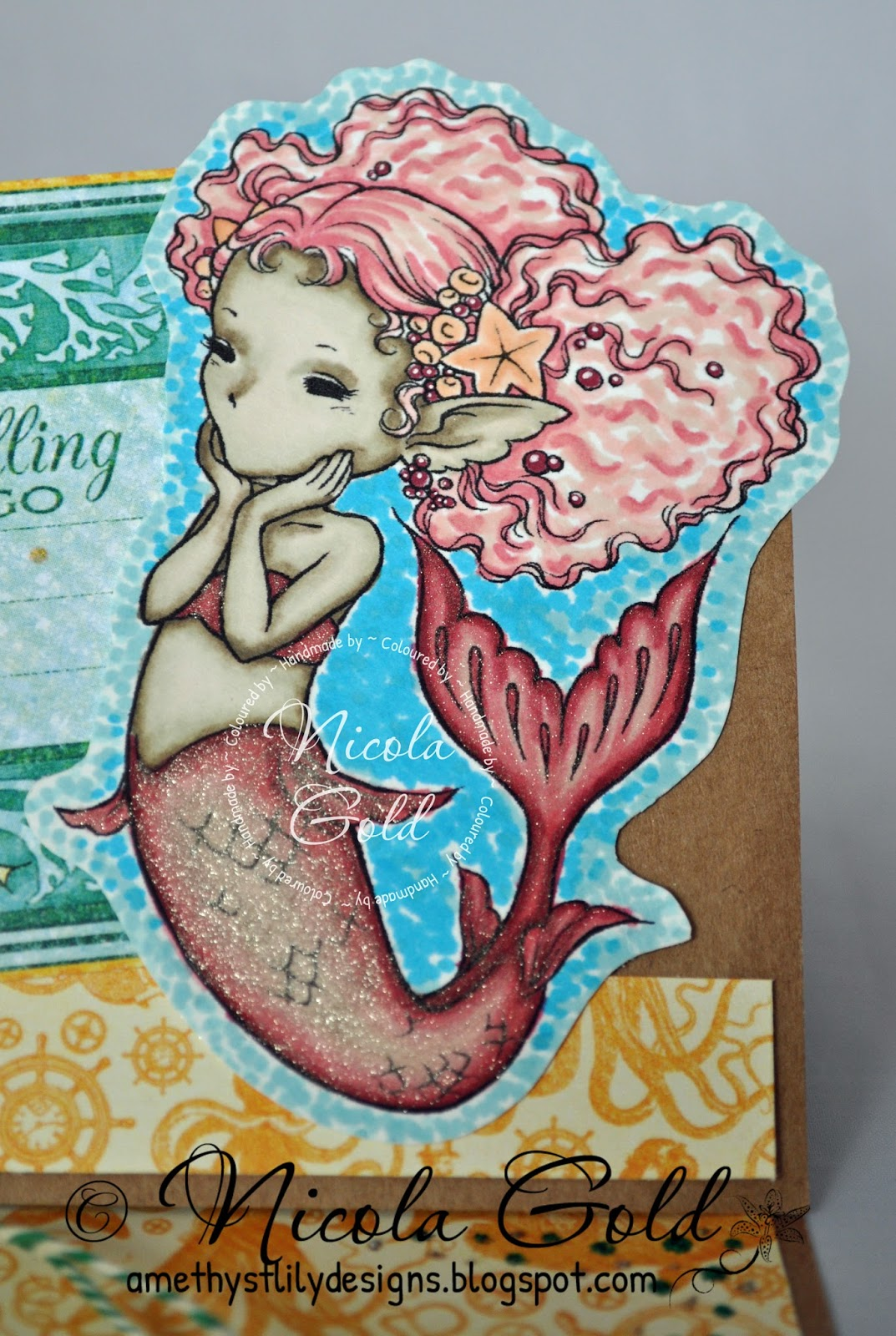 Amethyst Lily Designs The Sea Is Calling